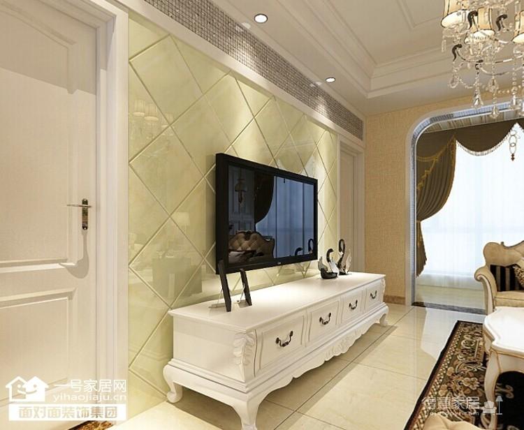龙阳1号-90平-奢华欧式-两室两厅图_3