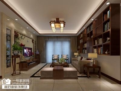 珞珈雅苑--130平-简约中式-三室两厅