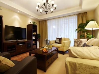 组-舒适温馨美式三居室