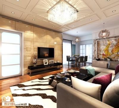 同安家园-94平-现代简约-三室两厅