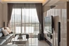 组- 纳入现代元素的俐落两室两厅图_9