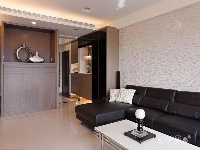 组- 纳入现代元素的俐落两室两厅图_6