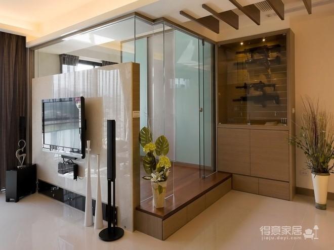 组- 纳入现代元素的俐落两室两厅图_5