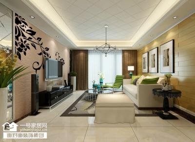 金地艺境-125平-现代简约-四室两厅