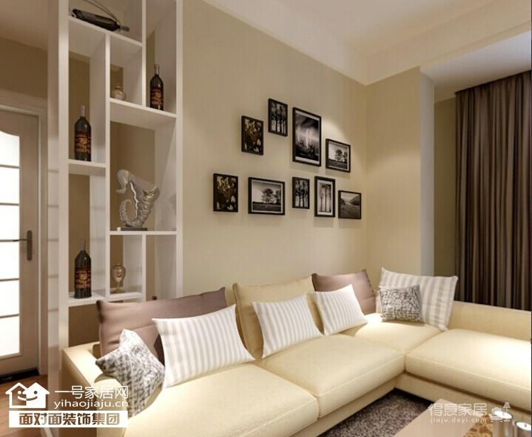 绿地国际金融城-90平-现代简约-两室两厅图_4