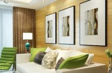 金地艺境-125平-现代简约-四室两厅图_4