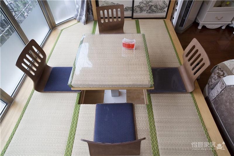 【长江紫都】 92平米两居室现代田园风格装修/武汉实创装饰图_7