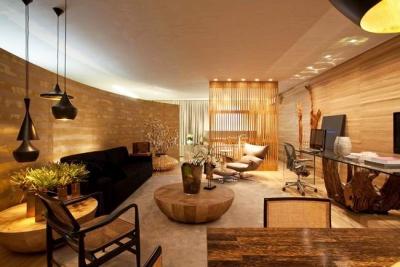组-木质暖暖的女子单身公寓