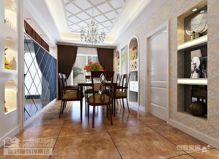 现代简欧的260平别墅装修设计图图_3
