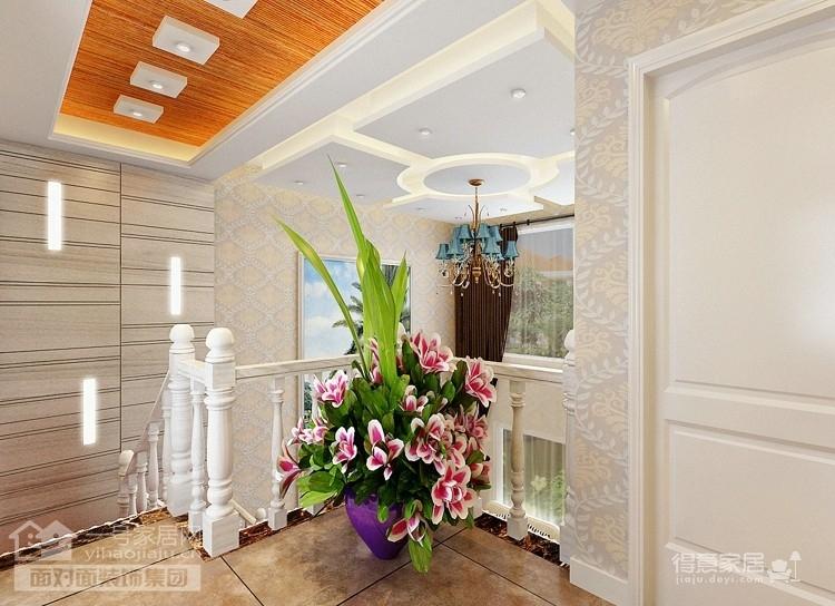 现代简欧的260平别墅装修设计图图_5