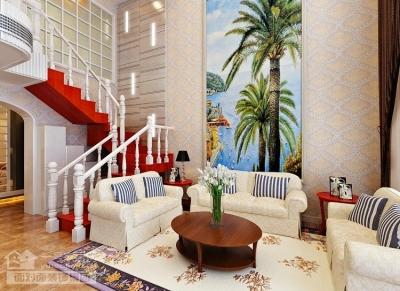 现代简欧的260平别墅装修设计图