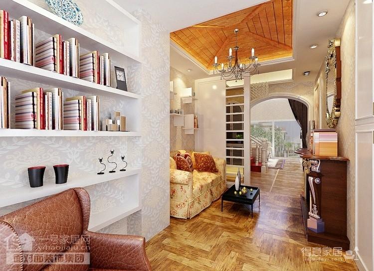 现代简欧的260平别墅装修设计图图_2