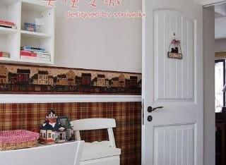 加厚实木复合烤漆门