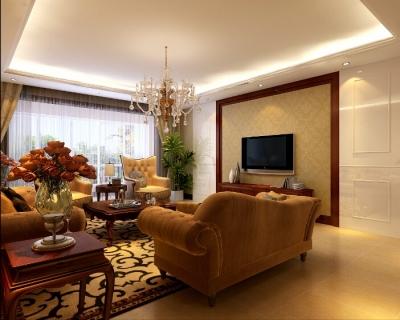 【添翼苑】 150平米欧式风格装修/优雅唯美平和而富有内涵