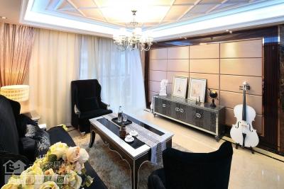 145平港式奢华三室两厅实拍图