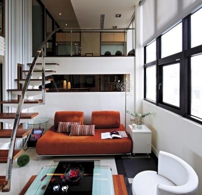 组-现代时尚小复式公寓