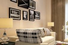 现代森林小镇-85平-现代简约-两室两厅图_4