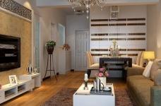 80平现代简约两居室装修图图_1