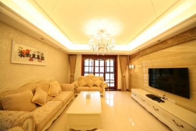 7.2万打造百瑞景170平米欧式大宅