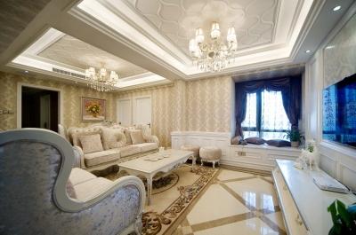 12万打造189平米滨湖名邸欧式双拼大宅
