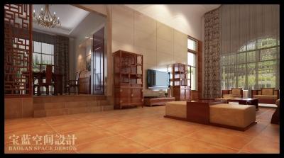 3层别墅-新中式风格混搭