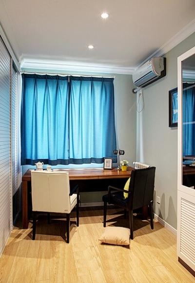组-恬淡宁静美式三室两厅