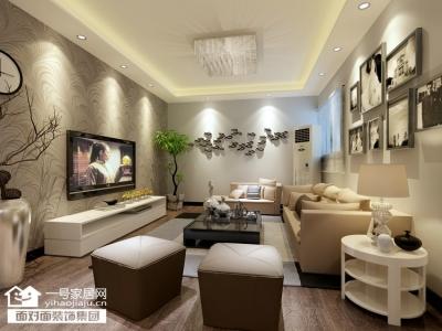 同安家园-91平-现代简约-两室两厅