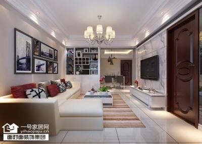 金地澜菲溪岸-93平-现代简约-三室两厅