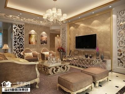 融侨锦江-134平-现代欧式-四室两厅