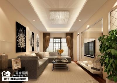 中建龙城-131平-现代简约-三室两厅