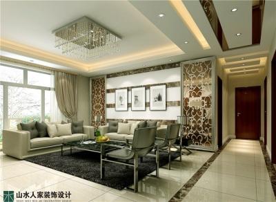 锦绣龙城-165平-四室两厅-后现代风格
