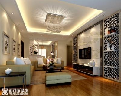 汉口秀园-139平-现代简约-三室两厅