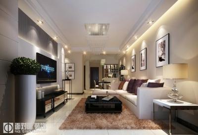 绿地新都荟-100平-现代简约-三室两厅