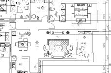 金地艺境-145平-美式风格图_5