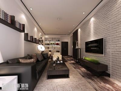 招商雍华府-77平-后现代-两室两厅