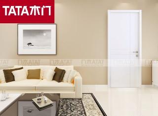 TATA木门AC-002室内房门 混油油漆实木复合门