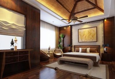 异域风情与现代结合的东南亚风格