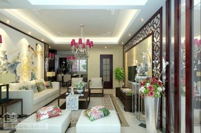 爱家国际华城-135平-四室两厅-新中式
