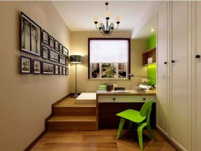 100平-三房-现代时尚风格效果图