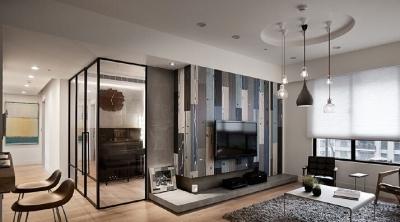 【原木北欧的清新4居室】爱旅行的屋主,因为珍藏著大量北欧家具,规划之初便决定挟以这份悠閒,原装独一无二的生活品味。