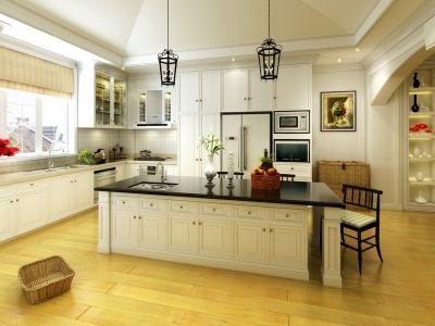 清新自然的简欧之美厨房