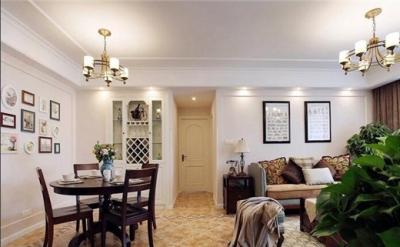 118平米三室两厅 宜家风