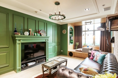超美绿色小居室