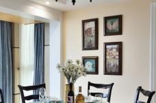 【悦达新天地】130平三居室美式风图_9 _餐厅