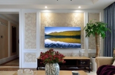 【悦达新天地】130平三居室美式风图_11 _客厅