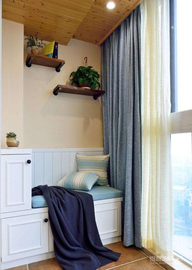 【悦达新天地】130平三居室美式风图_4 _客厅