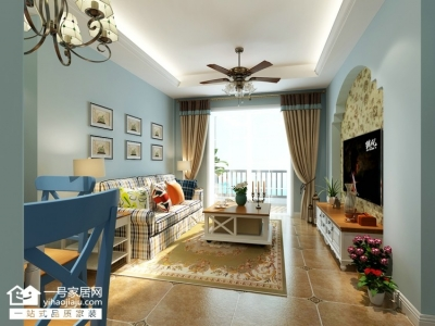 福地星城-82平-地中海-两室两厅