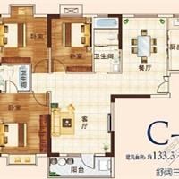 [银泰御华园]135平温馨简约家,我的房子我做主