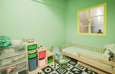 彩色长廊老公寓