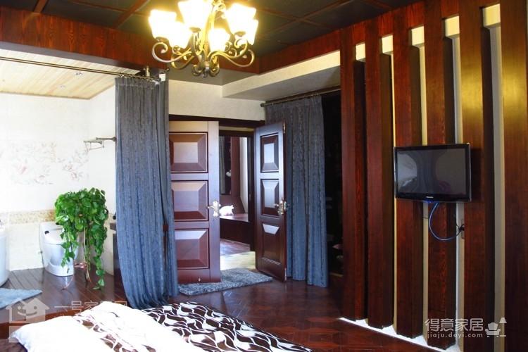 盛世家园160平四室两厅东南亚风格图_7